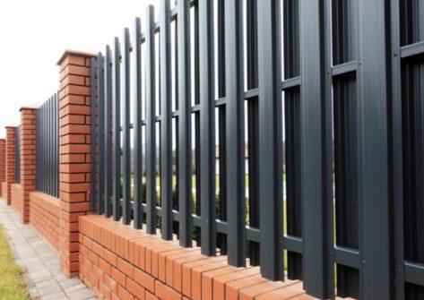 забор из евроштакетника цена в Краснодаре